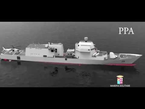 PPA Multipurpose Offshore Patrol Ship by Fincantieri for Italian Navy