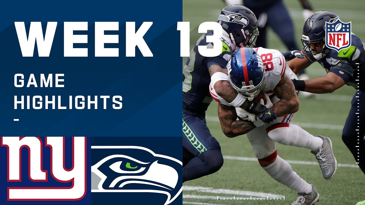 Patrick Graham and the Giants Defense Step up to Defeat the NFC West Leading Seahawks.