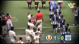 Universitario 1 vs Alianza Lima 0 - Clásico en Pucallpa 2015