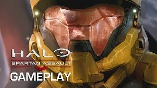 Halo: Spartan Assault Co-Op Gameplay (Xbox One)