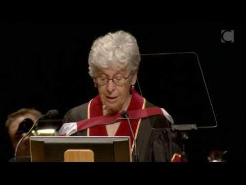 Joan Wallach Scott, 2016 Concordia Honorary Doctorate