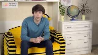 видео Выбор мебели для детской комнаты