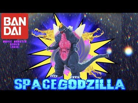 Bandai Movie Monster Series: Space Godzilla | 2019 | - (Figure Review)