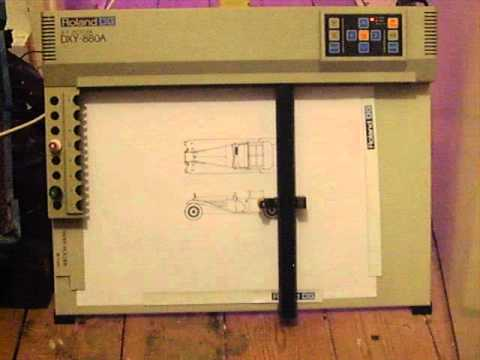 Roland DXY-880A XY Pen Plotter