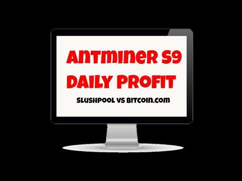 Antminer S9 Profit Slushpool Vs Bitcoin Pool Mining - Bitcoin Or Bitcoin Cash?