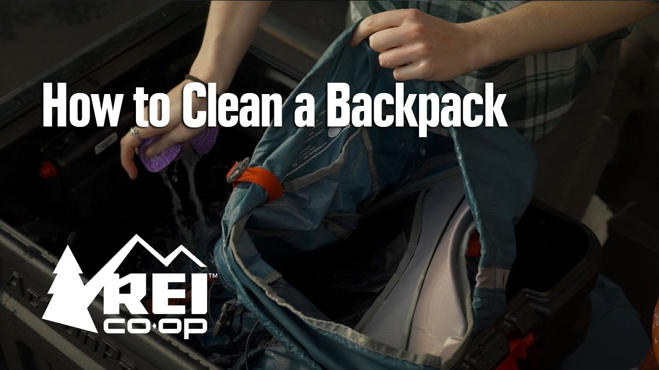 54e023187db7 How to Clean a Backpack - YouTube