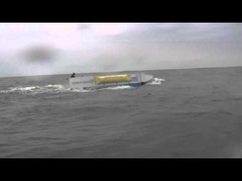 Sea Truck Upwind Speed Run