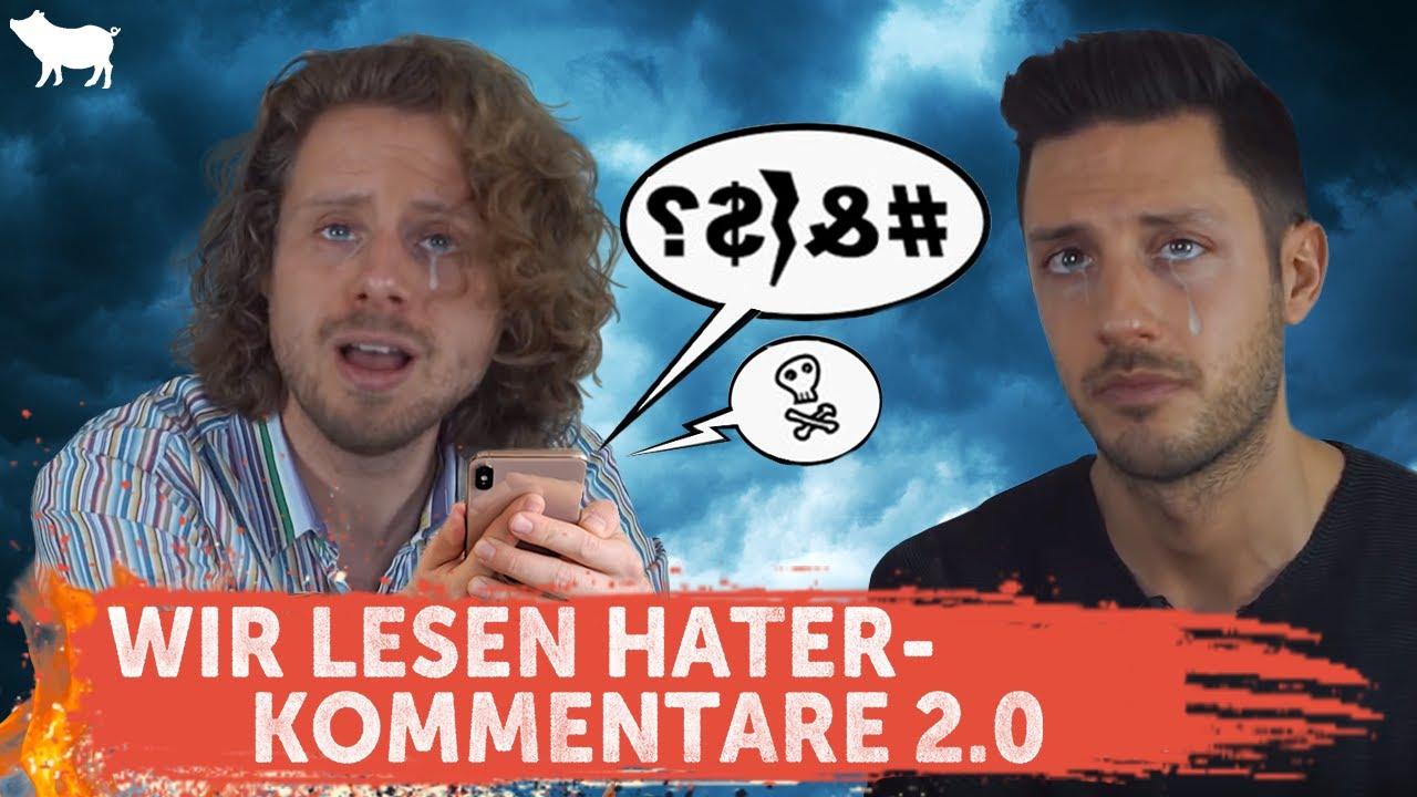 Wir reagieren auf Hater-Kommentare!