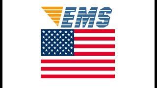 国際郵便・EMS 「アメリカ」 への料金・日数と書き方宛名について