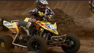 2010 AMA ATV MX National Motocross Championship ATV Racing Series Part 1