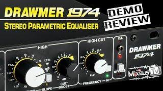 Drawmer 1974 Best Analog EQ Under $1000? Mix & Mastering Parametric Equalizer