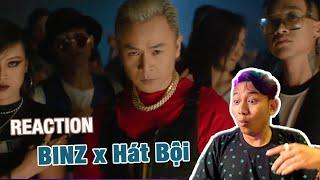 BLACKBI Hào Hứng Với Sự Kết Hợp Rap và Hát Bội | REACTION BECK'S ICE x Binz