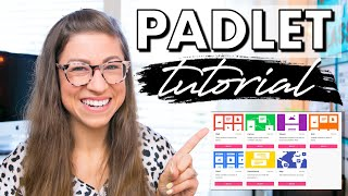 Padlet Tutorial for Teachers + 8 Ways to Use With Students