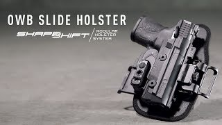 Video Best OWB Slide Holster - ShapeShift OWB Slide | Alien Gear Holsters download MP3, 3GP, MP4, WEBM, AVI, FLV Juli 2018