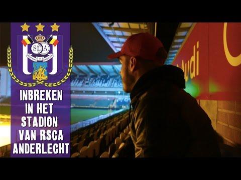 INBREKEN in het stadion van RSC ANDERLECHT!!