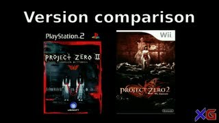 Fatal Frame 2 / Project Zero 2 - version comparison - PS2 vs. Wii | Memories in 8Bit