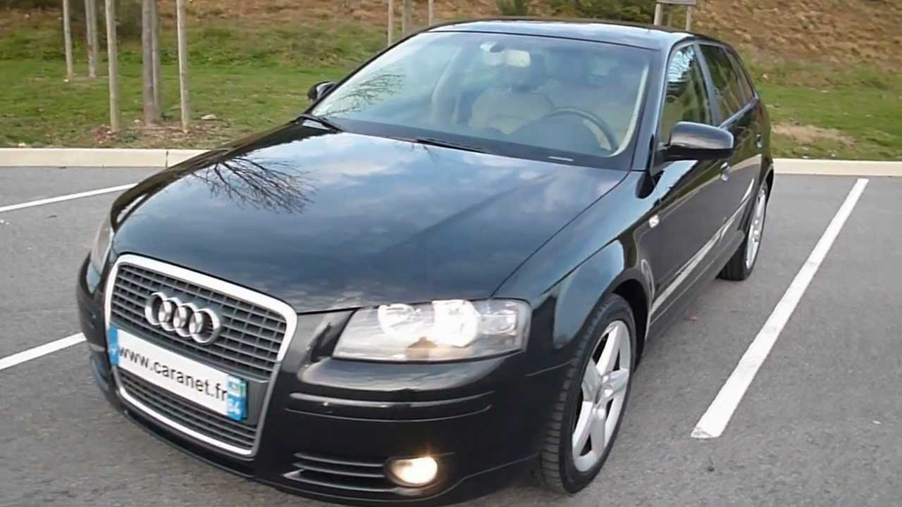audi a3 2 0 tdi 140 ch ambition luxe s tronic youtube. Black Bedroom Furniture Sets. Home Design Ideas