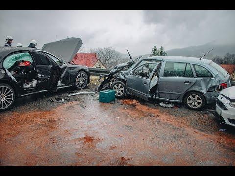 Groźny wypadek na drodze w Nowym Rybiu