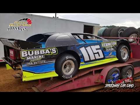 #115 Grant Helms - 602 - 7-14-18 North Alabama Speedway - In Car Camera