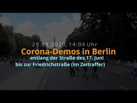 Download DAS seht ihr nicht auf ARD, ZDF & Co  So viele Leute waren auf der Corona Demo in Berlin! 29 08