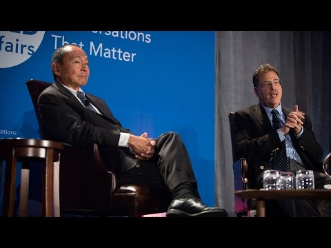 Larry Diamond And Francis Fukuyama: Is Democracy In Crisis?