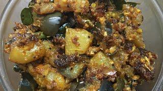 Tasty brinjal and potato fry recipe