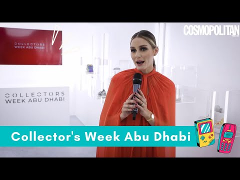 Collector's Week: Olivia Palermo on NFTs, vintage fashion and her love of Abu Dhabi ❤️