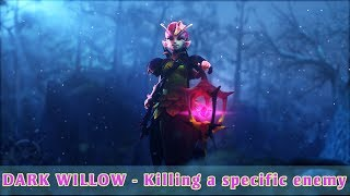 DARK WILLOW - All Responses Killing a specific enemy (with subtitle)