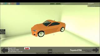 roblox-my first video making a toyota gt25 monster!!