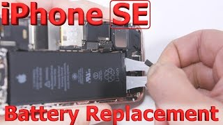 iPhone SE battery replacement in 3 minutes fix