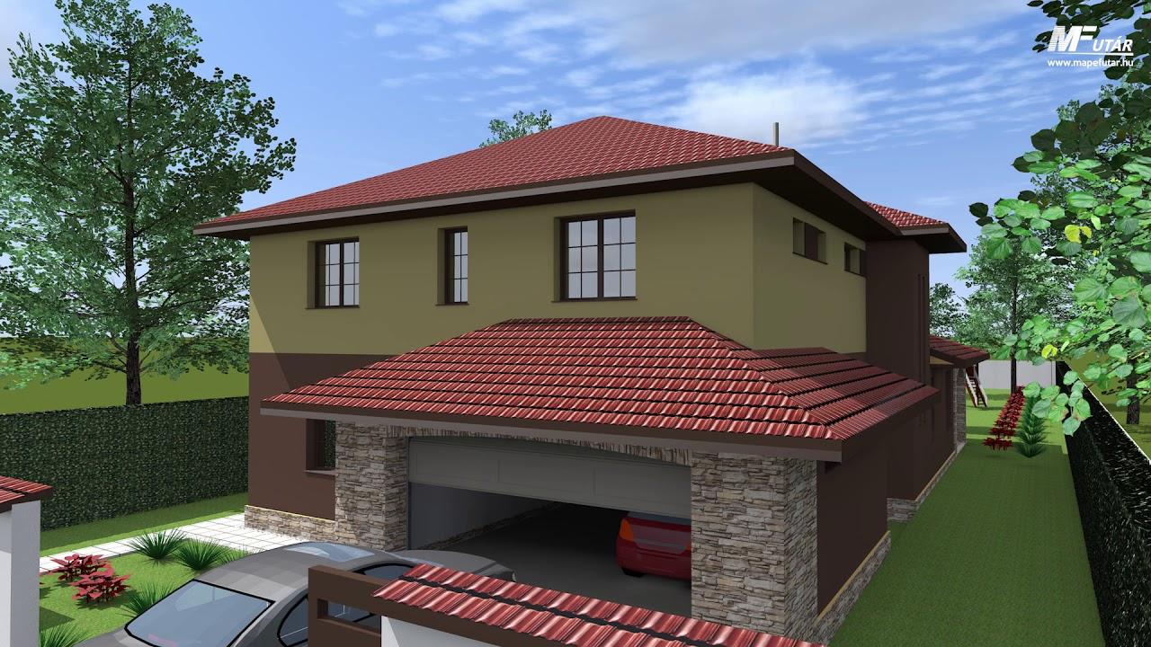 Családi ház külső színezése árak