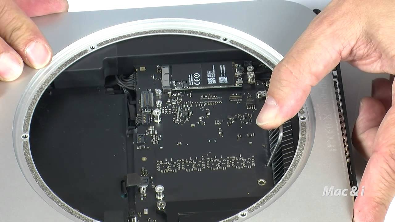 mac mini 2014 add ssd