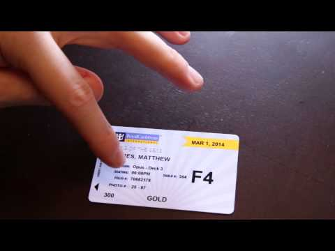 Royal Caribbean / Carnival Cruise Tips - Cruise Ship Sea Pass Cards