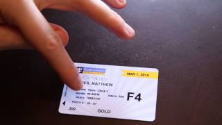 Royal Caribbean / Carnival Cruise Tips - Cruise Ship Sea Pass Cards