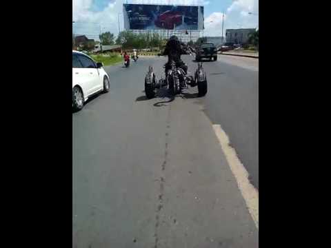 Real life Ghost Rider Bike - YouTube