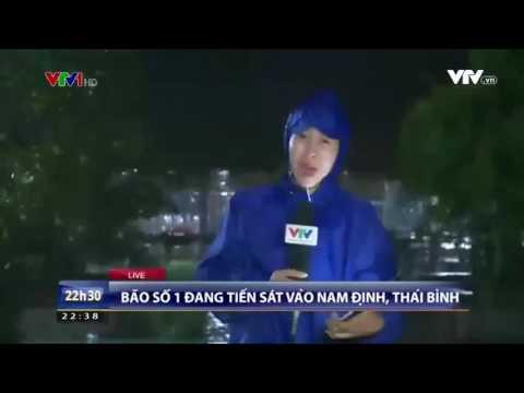 Tin bão số 1 tại Nam Định
