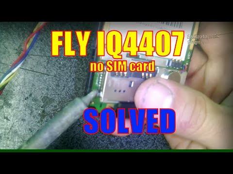 FLY IQ4407 не видит SIM РЕШЕНИЕ No Sim Card Solution
