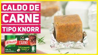 Caldo de Carne em Tablete tipo Knorr caseiro