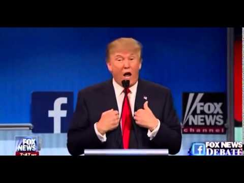 donald trump debate 2015