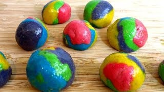 RAINBOW BUBBLE GUM BALLS