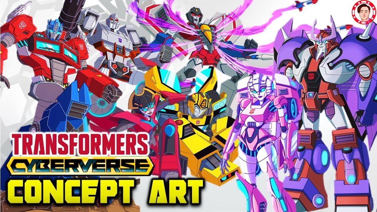 Transformers Cyberverse Concept Art Autobots Decepticon Full Designs