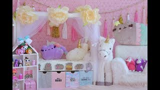 KAWAII BEDROOM REVEAL ~ Pusheen, Unicorns and LOL Dolls!