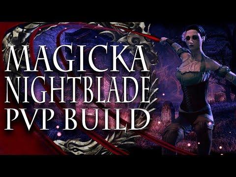 ESO PVP | Dual Wield Magicka Nightblade Solo Build | 1000 Subscriber Special