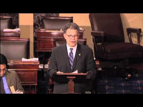Sen. Franken Honors Twins Legend Harmon Killebrew on Senate Floor