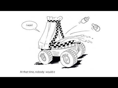 Whiteboard animatie voor Tim Coronel t.b.v. Dakar door Art-Unit