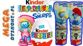 Kinder Niespodzianka • Smerfy • Smerfetka & Papa Smerf