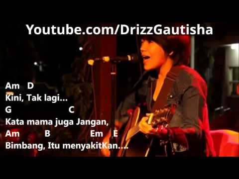 Riska Afrilia aka Drizz Gautisha - Tak Lagi Galau (Chord Dan Lirik)