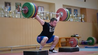 Weightlifting Training CAMP #4 / Torokhtiy