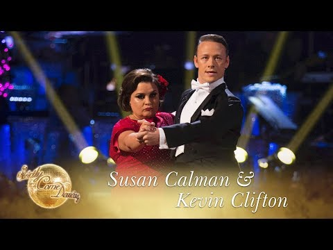 Susan and Kevin Tango to 'Firework' by Katy Perry - Strictly Come Dancing 2017