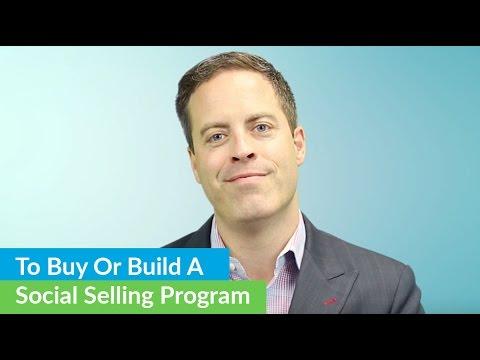 Buying Vs. Building A Social Selling Program